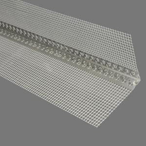 Rohová lišta s perlinkou standard- hliník/PVC 2,5m
