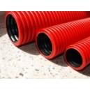 Průchodka - ochranná hadice na kabely DN 110/94 mm (elektrikářská) červená
