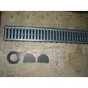 Odvodňovací žlab PVC- délka 1m, do 1,5t